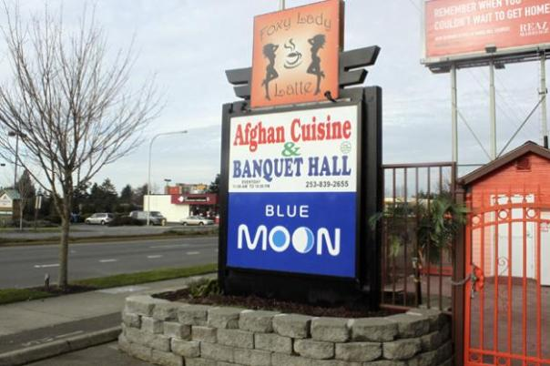 MIRROR FILE PHOTOThe Blue Moon, located at 31140 Pacific Highway S., just north of South 312th Street in Federal Way. The nightclub's entrance is an unmarked door at the back of the building.